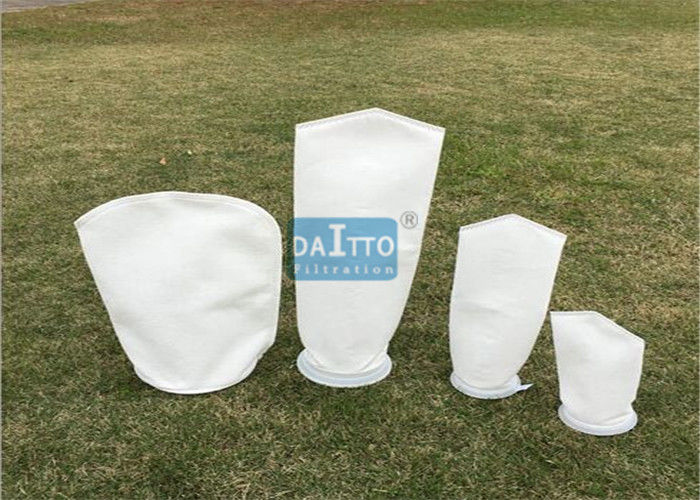 Micron Liquid Filter Bags Non Woven Needle For Cooling Tower Filtration