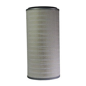 Cylindrical Industrial Air Filter Cartridge With Large Filter Media Surface