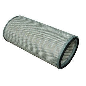 Oval Air Filter Cartridge Flame Retardant Finishing Superior Cleanability