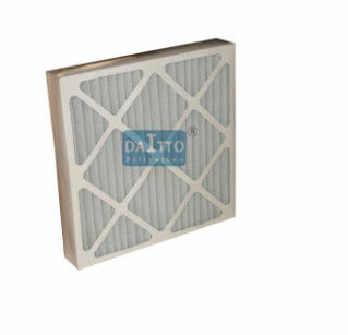 "Customized Pleated Panel Filter , High Performance Air Filter 4"" Nominal Thickness"